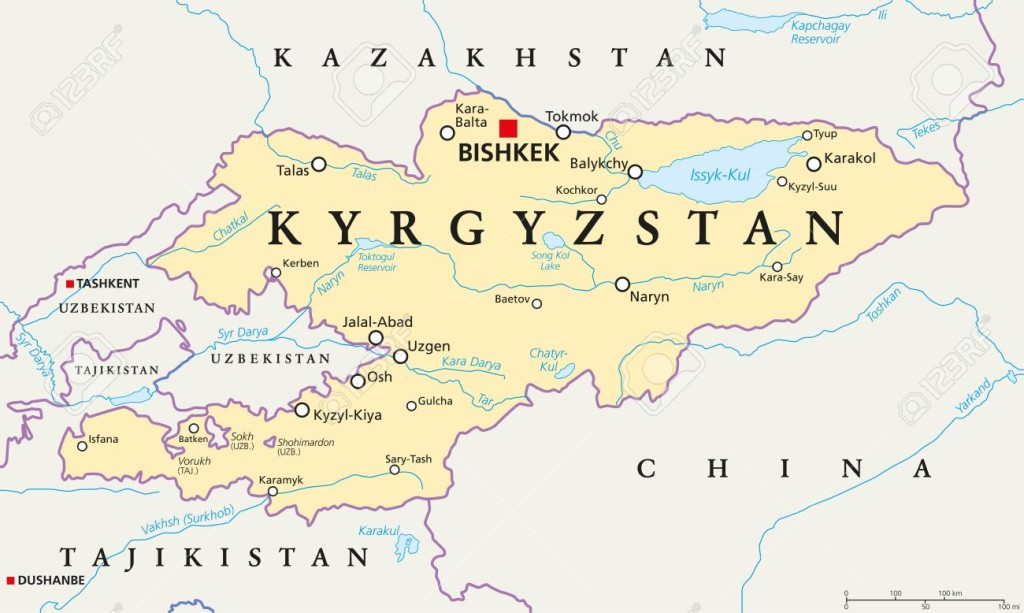 63978885-kyrgyzstan-political-map-with-capital-bishkek-national-borders-important-cities-rivers-and-lakes-kyr