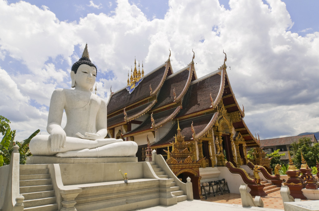 Mornthean Temple in Chiang Mai,Thailand