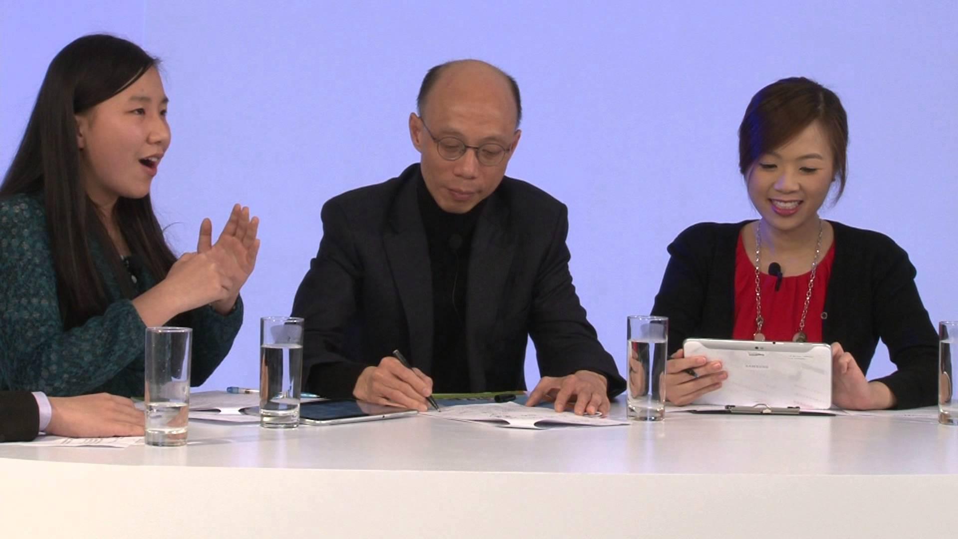 青年與環境局局長黃錦星對話